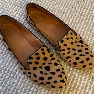 Madewell Cheetah Leopard Loafers, 9.5